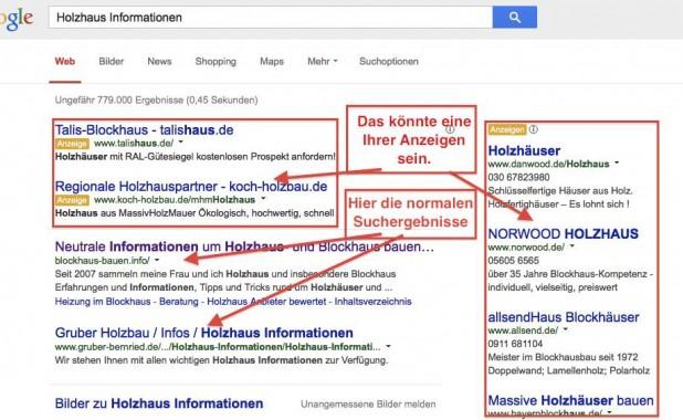Google Suche Holzhaus